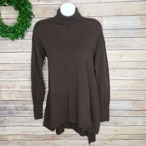 3/$20 Mossimo Mocha Turtleneck Sweater Medium